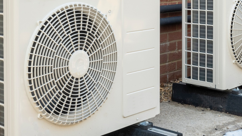 Heat pump service.