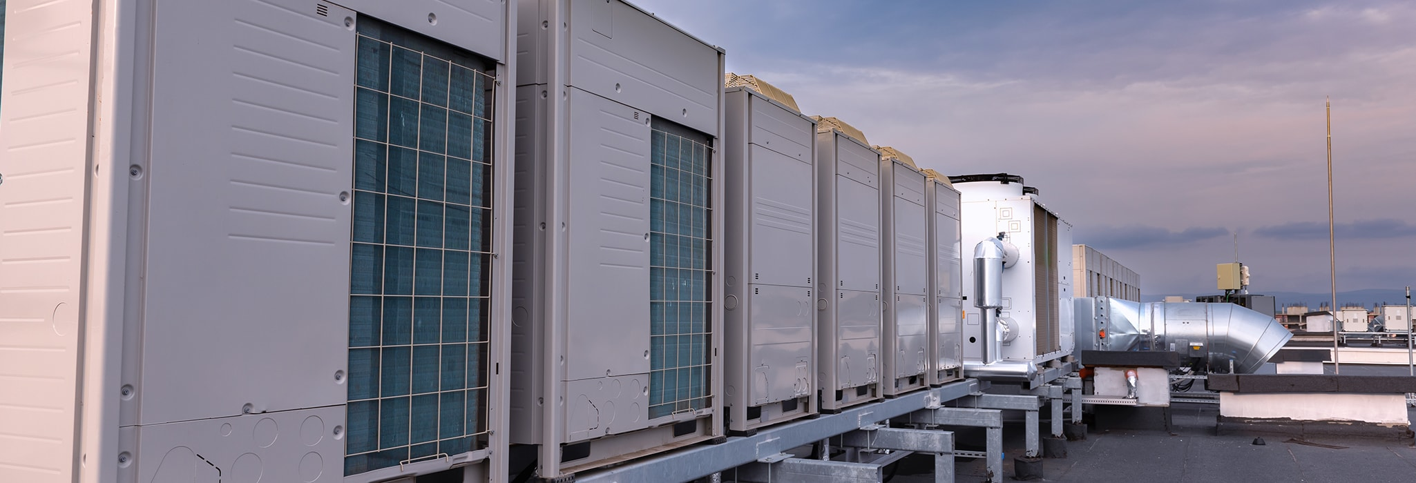 commercial rooftop units.
