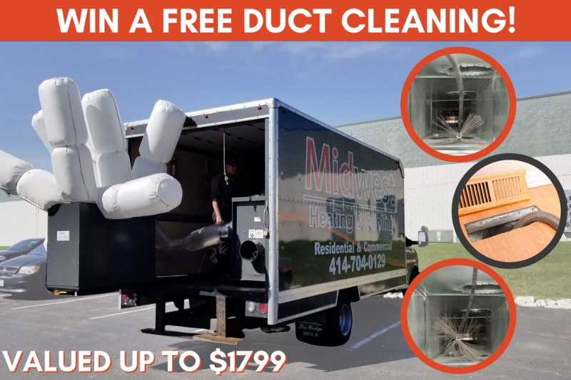 Midwest Duct Cleaning Giveaway