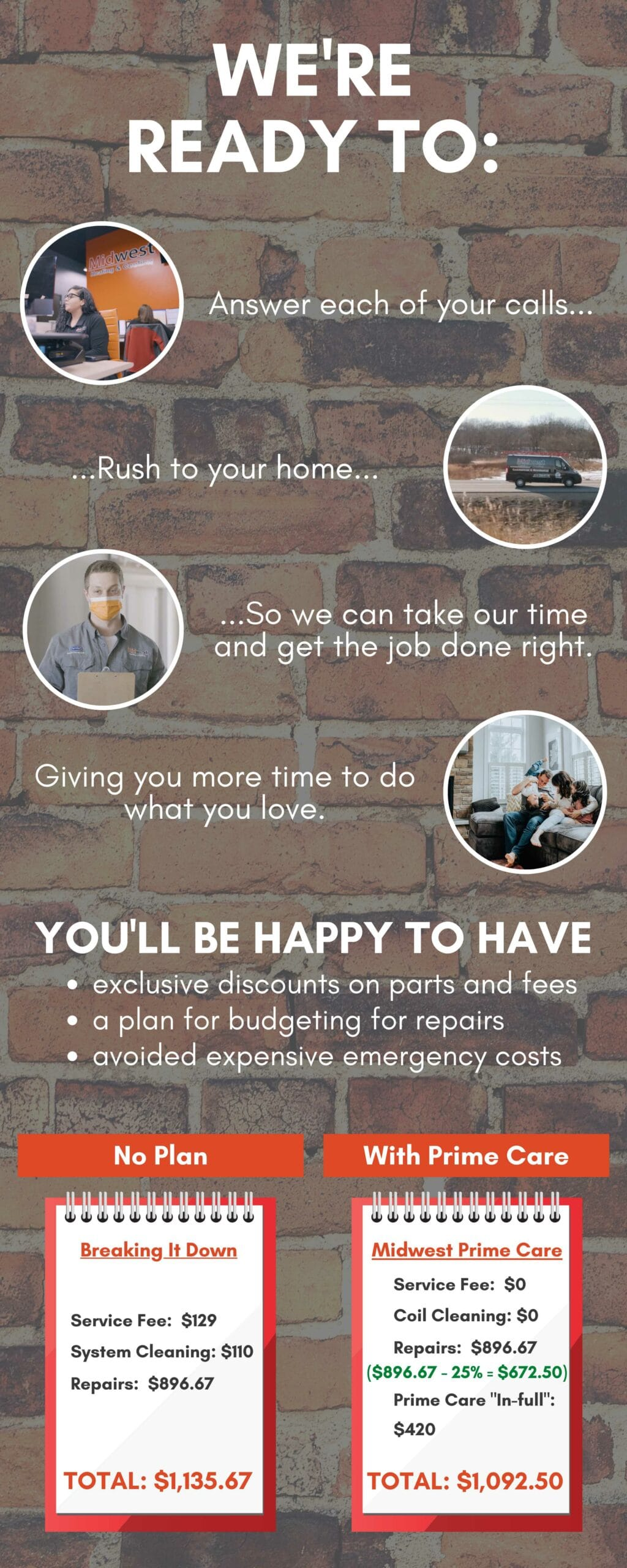 Maintenance Membership Plan